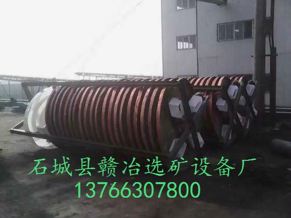 煤泥螺旋溜槽
